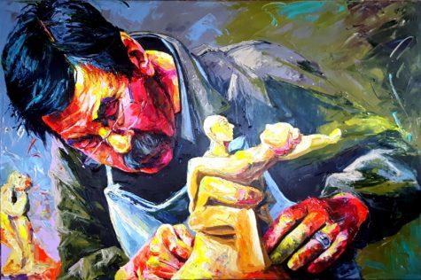Bont Jansson Günter Grass 100 x 150