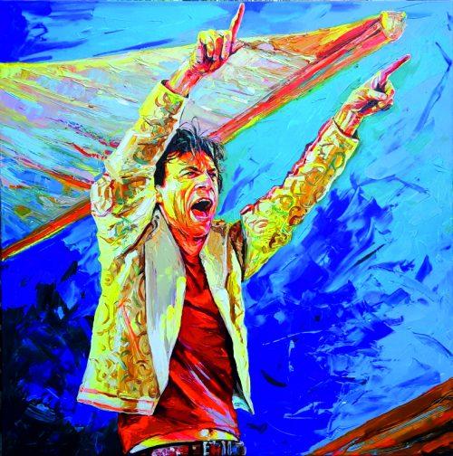 Bont Jansson Mick Jagger 120 x 120