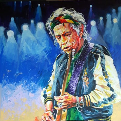Bont Jansson Keith Richards 130 x 130