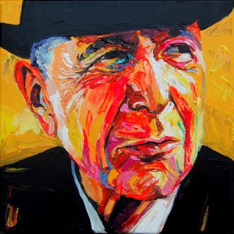Bont Jansson Leonard Cohen 40 x 40