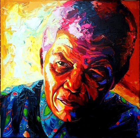 Bont Jansson Nelson Mandela 140 x 140