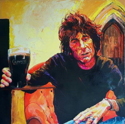 Bont Jansson Cheers, Ron Wood 140 x 140