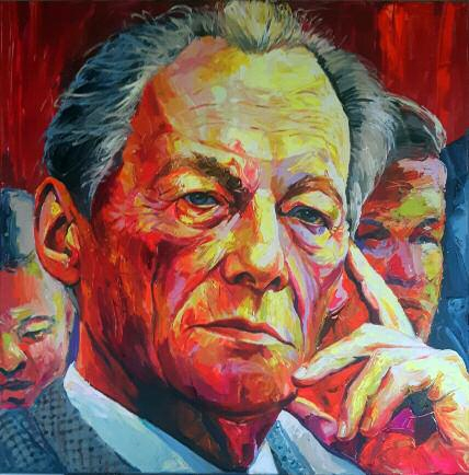 Bont Jansson Willy Brandt 120 x 120